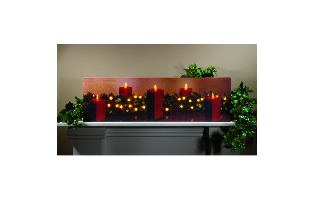 LIGHTED CHRISTMAS CLASSIC CANVAS